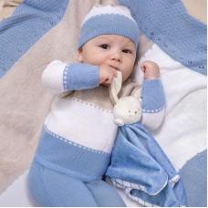 Комплект для мальчика Mayoral (Майорал) кремово-голубой оттенок