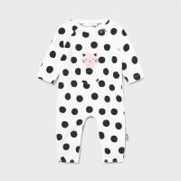 Пижама Mayoral (Майорал) для новорожденного пятнистый принт