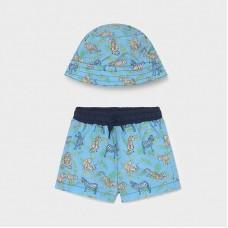 Пляжный комплект ( панама,шорты) Mayoral (Майорал) оттенок лаванда