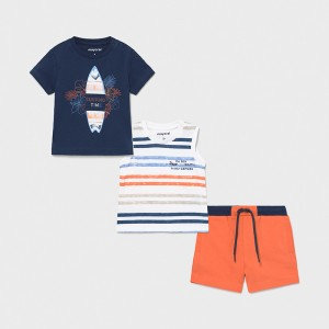 Комплект (футболка,майки и шорты) Mayoral (Майорал) на мальчика
