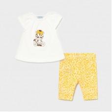 Комплект на девочку Mayoral (Майорал) желтого оттенка