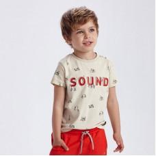 "Комплект футболок ""барабанщик""Mayoral (Майорал) на мальчика"