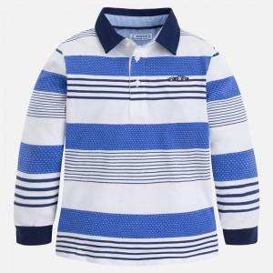 Рубашка-поло на мальчика Mayoral (Майорал) полосатый принт