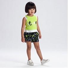 Спортивный комплект Mayoral (Майорал) для девочки оттенок лайм