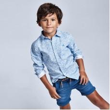 Шорты Mayoral (Майорал) для мальчика синего оттенка