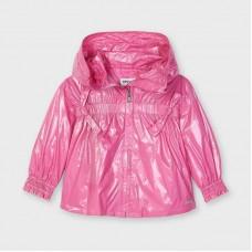 Куртка с капюшоном на девочку Mayoral (Майорал) оттенок камелия