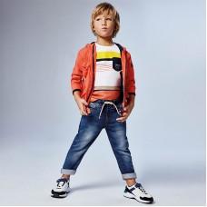 Джоггеры на мальчика Mayoral (Майорал) синего оттенка