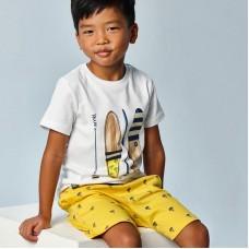 Комплект Mayoral (Майорал) на мальчика молочно-желтого оттенка
