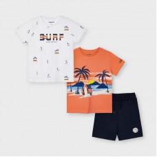 Комплект ( две футболки и шорты) Mayoral (Майорал) на мальчика