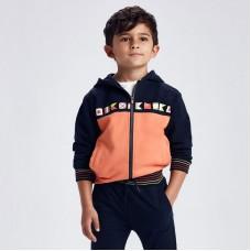 Спортивный костюм Майорал (Майорал) на мальчика оранжево-синего оттенка