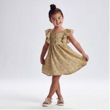 Платье для девочки Mayoral (Майорал) горчичный оттенок