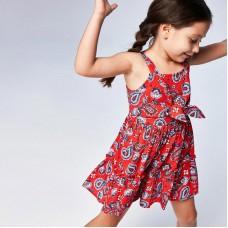 Платье для девочки Mayoral (Майорал) оттенок мак