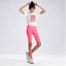 Велошорты для девочки Мayoral (Майорал) розового оттенка