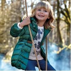 Куртка  Mayoral(Майорал) для девочки хвойного оттенка