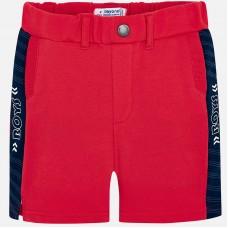Красные шорты-бермуды для мальчиков