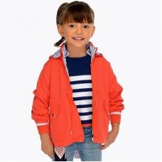 Ветровка куртка с длинными рукавами для девочек