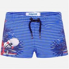 Короткие купальные плавки в полоску для мальчика