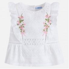 Блуза из прошвы для девочки Mayoral
