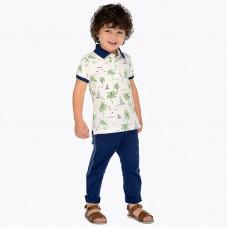 Длинные брюки для детей китайского типа и прямого кроя.