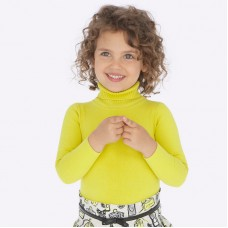 Гольфик Mayoral (Майорал) для девочки желтого оттенка