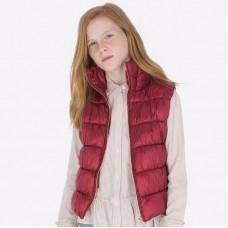 Жилет Mayoral (Майорал) для девочки рубинового оттенка