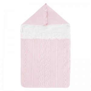 Зимний конверт для новорожденного Mayoral (Майорал) розового оттенок