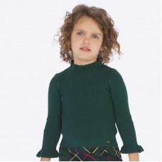 Гольфик Mayoral (Майорал) для девочки зеленого оттенка