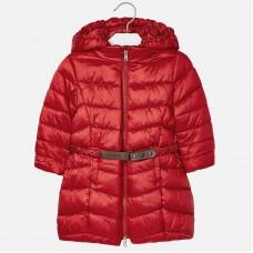 Пальто Mayoral(Майорал) для девочки красного оттенка