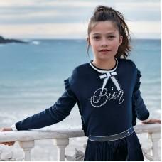 Джемпер Mayoral(Майорал) для девочки синего оттенка