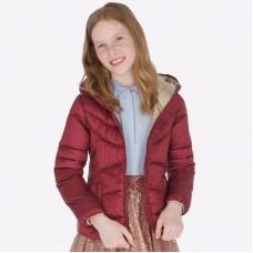 Куртка Mayoral (Майорал) для девочек рубинового оттенка
