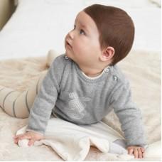 Комплект для мальчика Mayoral (Майорал) серо-кремовый оттенок