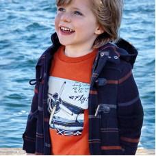 Толстовка на мальчика Mayoral (Майорал) терракотовый оттенок