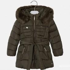 Куртка на девочку Mayoral (Майорал) оливковый хаки оттенок