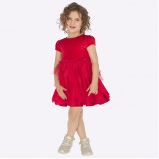 Платье на девочку Mayoral (Майорал) темно-бордового оттенка