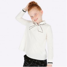 Блузка на девочку с бантом Mayoral (Майорал)