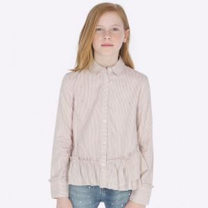 Блузка на девочку Mayoral (Майорал) японский розовый оттенок