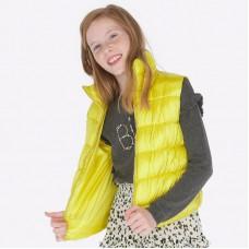 Жилет Mayoral(Майорал) для девочки лимонного оттенка