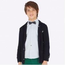 Пиджак на мальчика Mayoral (Майорал) синего оттенка