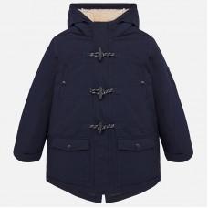 Куртка-парка на мальчика Mayoral (Майорал) синего  оттенка