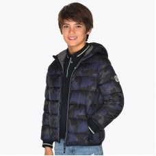 Куртка на мальчика Mayoral (Майорал) серого оттенка