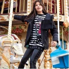 Леггинсы на девочку Mayoral (Майорал)  черного оттенка
