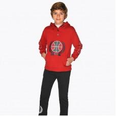Спортивный костюм на мальчика Mayoral (Майорал) красного оттенка
