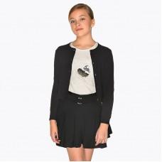 Юбка-шорты на девочку Mayoral (Майорал) черного оттенка