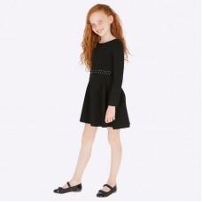 Платье на девочку Mayoral (Майорал) черного оттенка