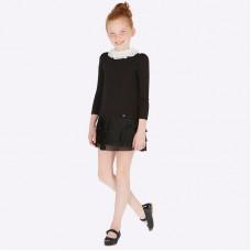 Платье Mayoral (Майорал) для девочки черного оттенка