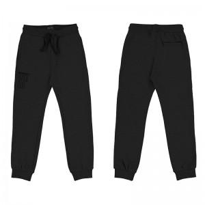 Спортивные брюки для мальчика Mayoral(Майорал) черного оттенка