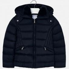 Демисезонная куртка на девочку Mayoral (Майорал) синего оттенка
