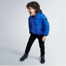 Куртка демисезонная на мальчика Mayoral синего оттенка
