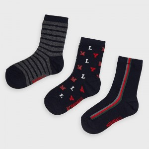 Комплект носков для мальчика Mayoral (Майорал) синий оттенок