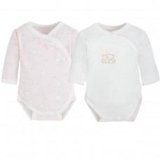 Боди в наборе для новорожденного Mayoral (Майорал) розовый оттенок